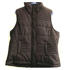 New York and Company Black Puffer Vest